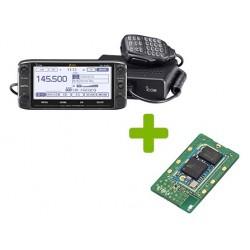 Emisora VHF/UHF bibanda Icom ID-5100E + UT-133